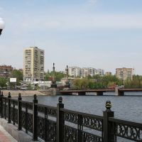 Набережная реки Кальмиус, Донецк