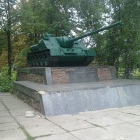 СУ-100, Северный парк 30.07.2011, Донецкая