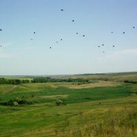 Вид на Коммунарский ставок, Донское
