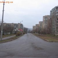 Вид на ул. Энгельса со стороны школы №6., Дружковка