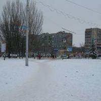 пл. Октябрьская. 2011, Дружковка
