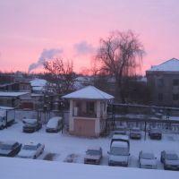 Зимнее утро. 17 января 2011, Дружковка