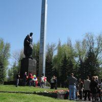 Вечный огонь. 9 мая 2011, Дружковка