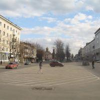 Площадь в облаках, Енакиево