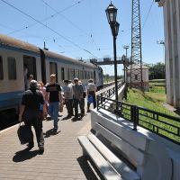 Прибытие поезда, Жданов