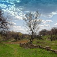 Остаки шахтного забора, Жданов