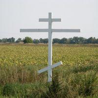 Православный крест на пути в Желанное, Желанное