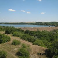 Водохранилише.A storage pond., Зуевка