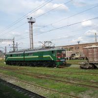 локомотив вл-8(ещё работает)иловайск., Иловайск