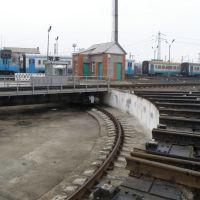 Поворотный круг Иловайского депо., Иловайск