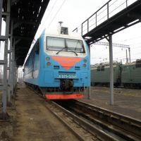 Ростовский ЭП1М-558 на ПТОЛ Иловайского депо., Иловайск