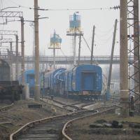 Восстановительный поезд на ст.Иловайск., Иловайск