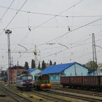 підїжджаємо до Донецького вокзалу .., Карло-Либкнехтовск