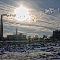 Зимний пейзаж, Карло-Либкнехтовск