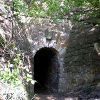 Тоннель 19 века для ручейка, Карло-Марксово