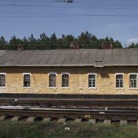 старое станционное здание, Кировск