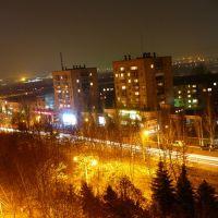 Ночной город, Краматорск