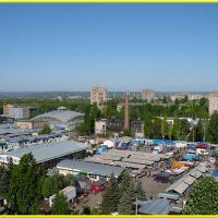 Вид на рынок, Краматорск