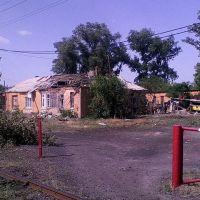 После обстрела 03.06.2014г., Красный Лиман