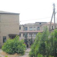 ж.д. больница после обстрела 03.06.2014г., Красный Лиман