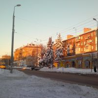 просп. Ленина 16.12.2012, Макеевка