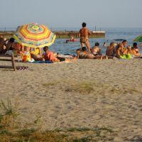 пляж, вечір .., Мариуполь