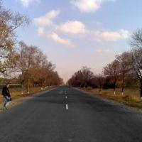 Шосе Марїнка - Донецьк / Marianka - Donetsk highway, Марьинка