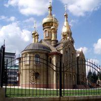 Храм в Марьинке. Вид с северо-востока., Марьинка