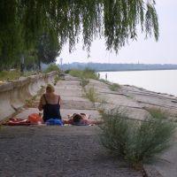 пляж, Новоазовск
