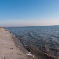 Зимний пляж, Новоазовск
