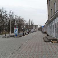После 15 - 00 город вымирает..., Новоазовск