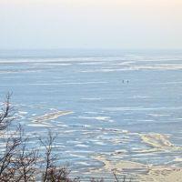 Зимнее море, Новоазовск