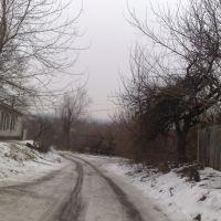 ул. Горького (после пересечения с ул. Шмидта), Славянск