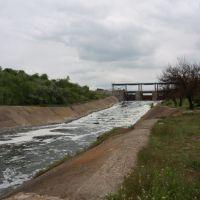 Плотина на Старобешевском водохранилище, Старобешево