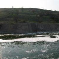 Слив водохранилища, Старобешево