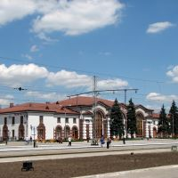 Ясиноватая вокзал, Ясиноватая