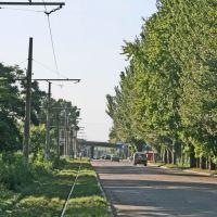 Улица Ленина.   8.9.2009, Константиновка