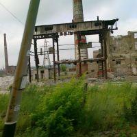 Константиновский  стекольный в руинах., Константиновка