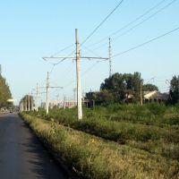 трамвайная линия, Константиновка