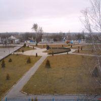 Сквер біля центральної площі міста, Андрушевка