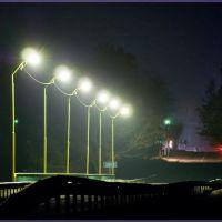 Міст через р. Случ уночі, Барановка