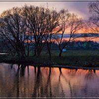 Апрельский вечер / April evening, Барановка