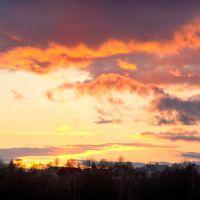 Пылающие облака / Flaming clouds, Барановка