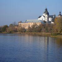 Вид на крепость с пешеходного моста, Бердичев