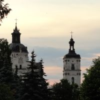 Вежі монастиря - Towers of the monastery, Бердичев