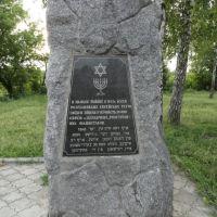 Памятник загиблим євреям - Monument to the fallen Jews, Бердичев