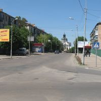 перспектива з видом на монастир, Бердичев