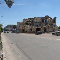 руїна в центрі міста * ruined building, Бердичев