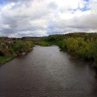 (r. Sluch), р. Случ, Вид з Житомирського мосту, Броницкая Гута