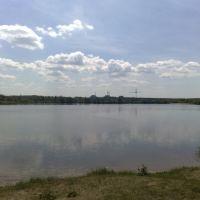Вид на Хмельницкую АЭС, Броницкая Гута
